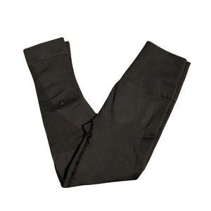 lululemon seamless leggings 6 cropped  FLAW